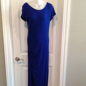 Royal Blue Maxi Dress NWT